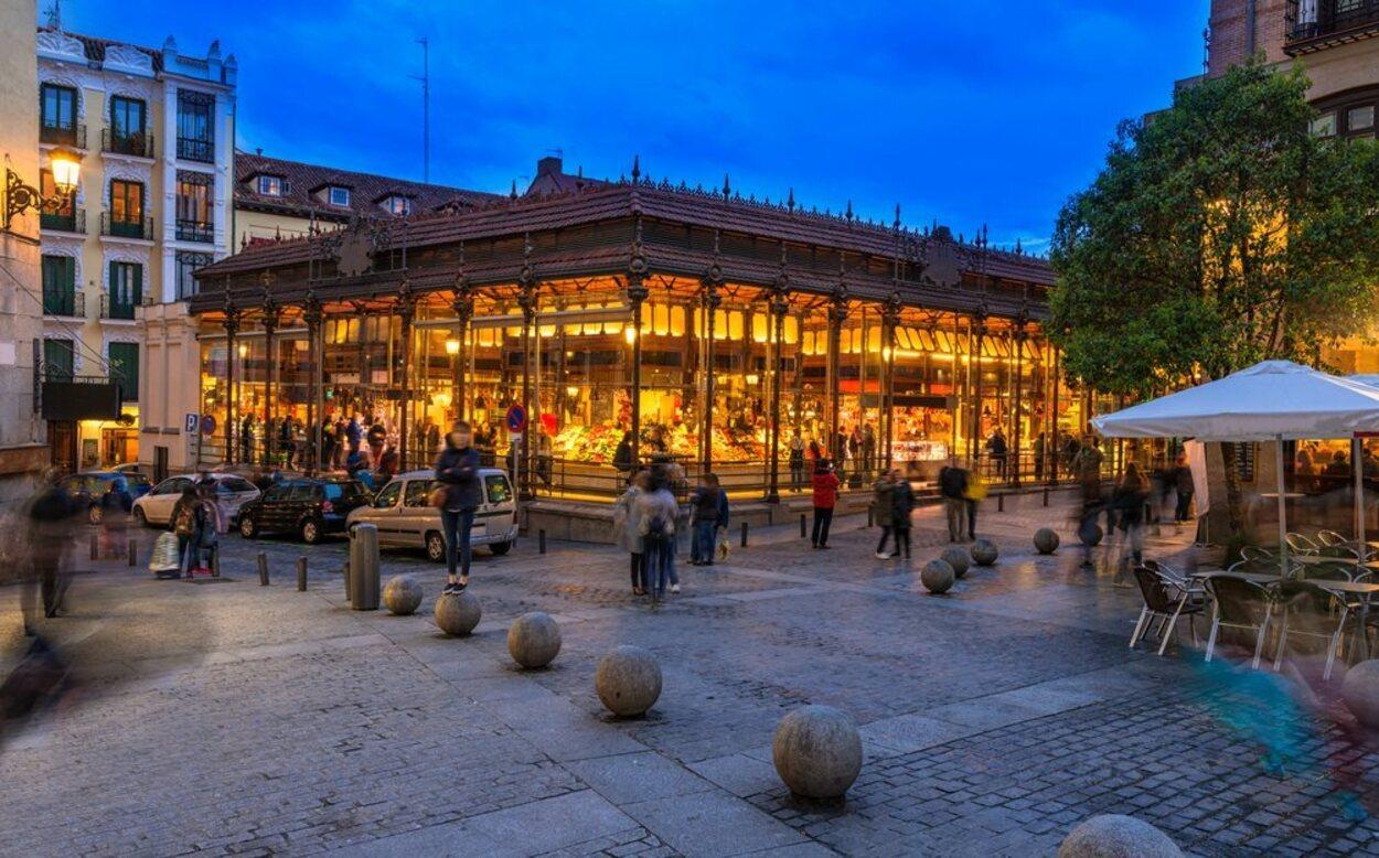 El Mercado de San Miguel es uno de los puntos clave en la ruta de los mercados