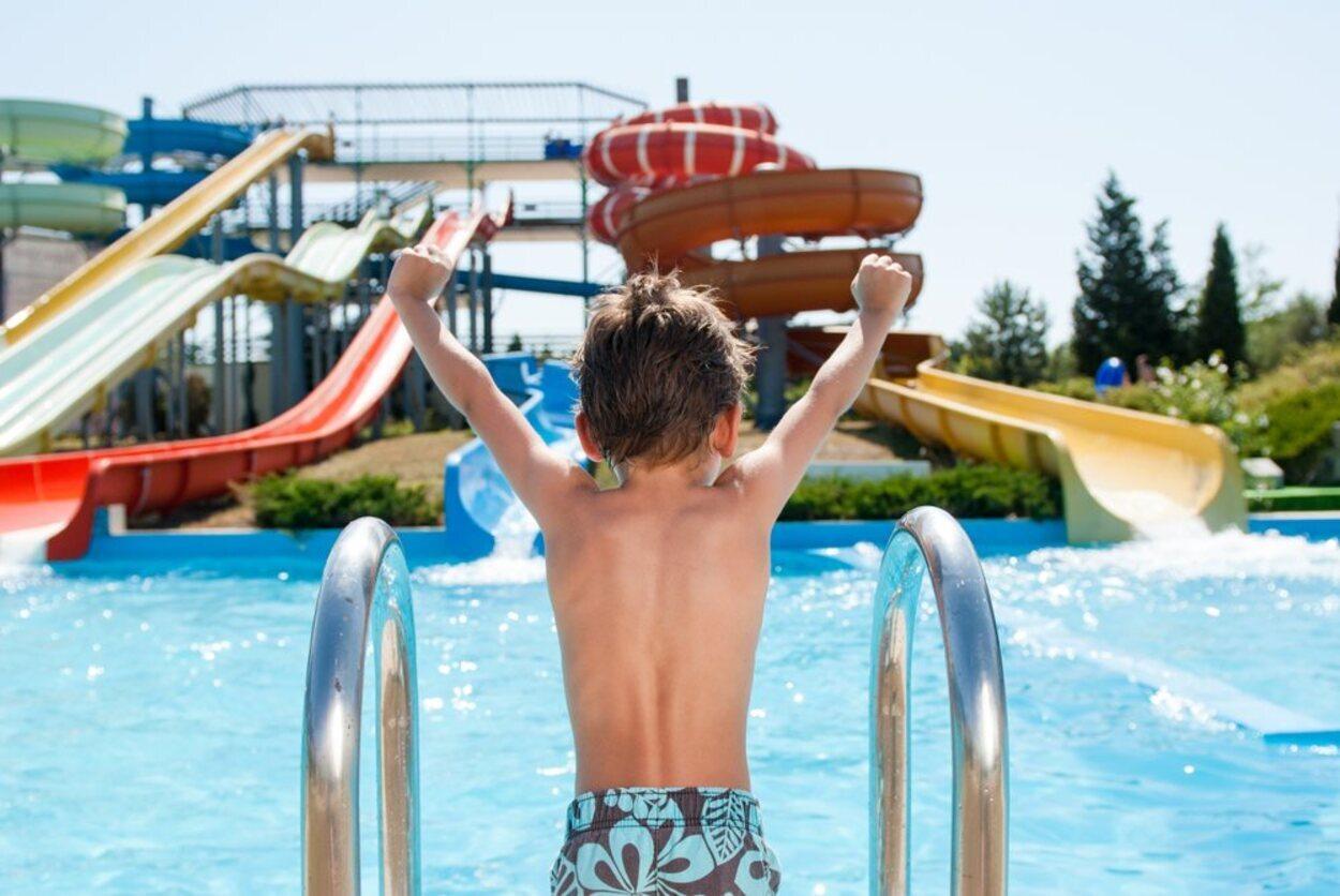 En Madrid se pueden encontrar varios parques acuáticos, ideales para los más pequeños