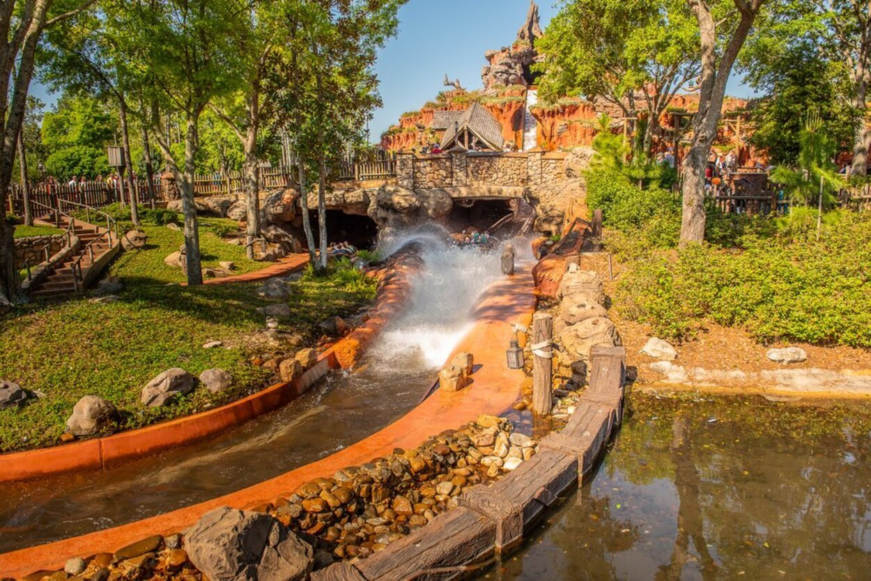 La atracción 'Splash Mountain' en Disney's Magic Kingdom