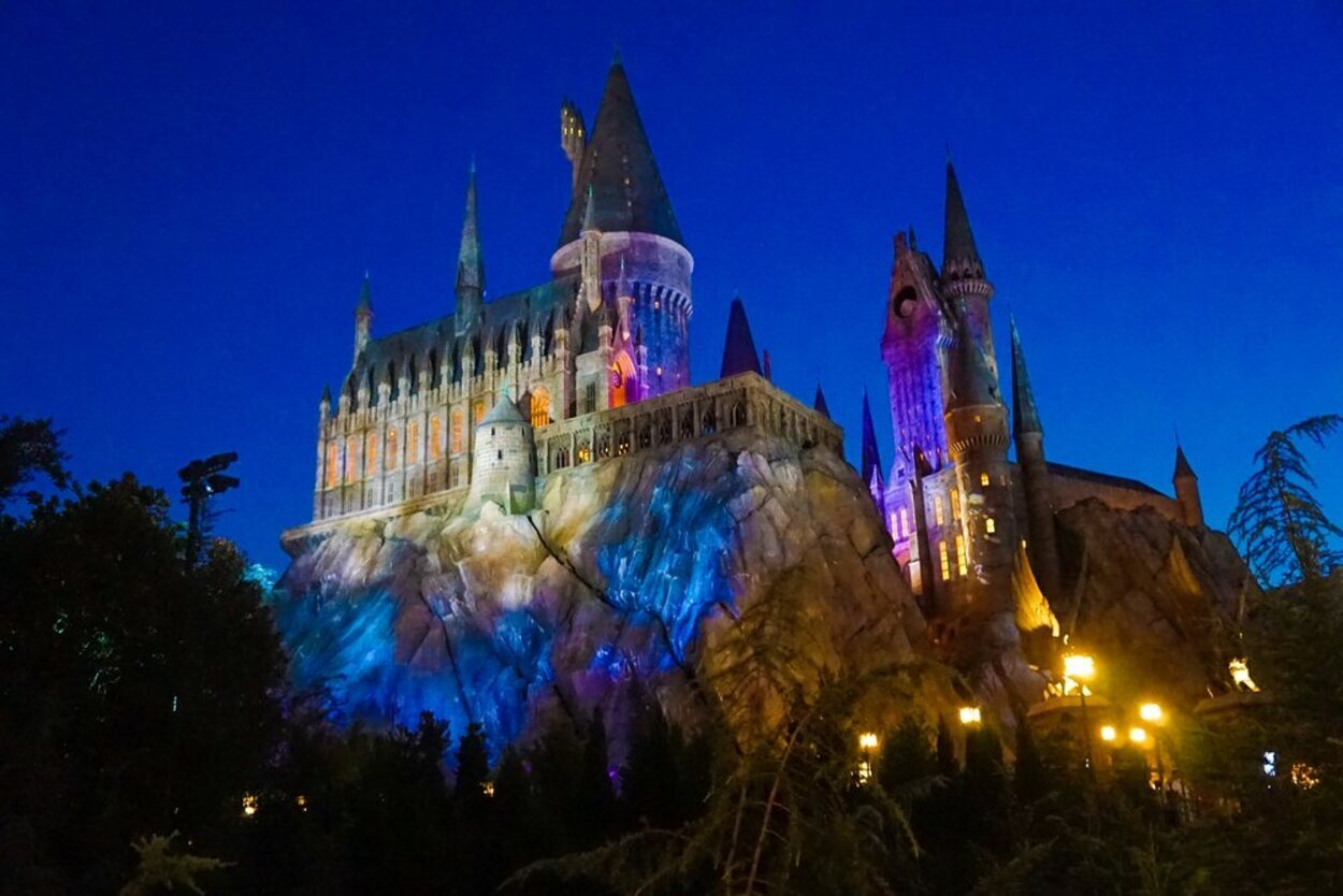 En este parque se puede ver el esperado castillo de Hogwarts