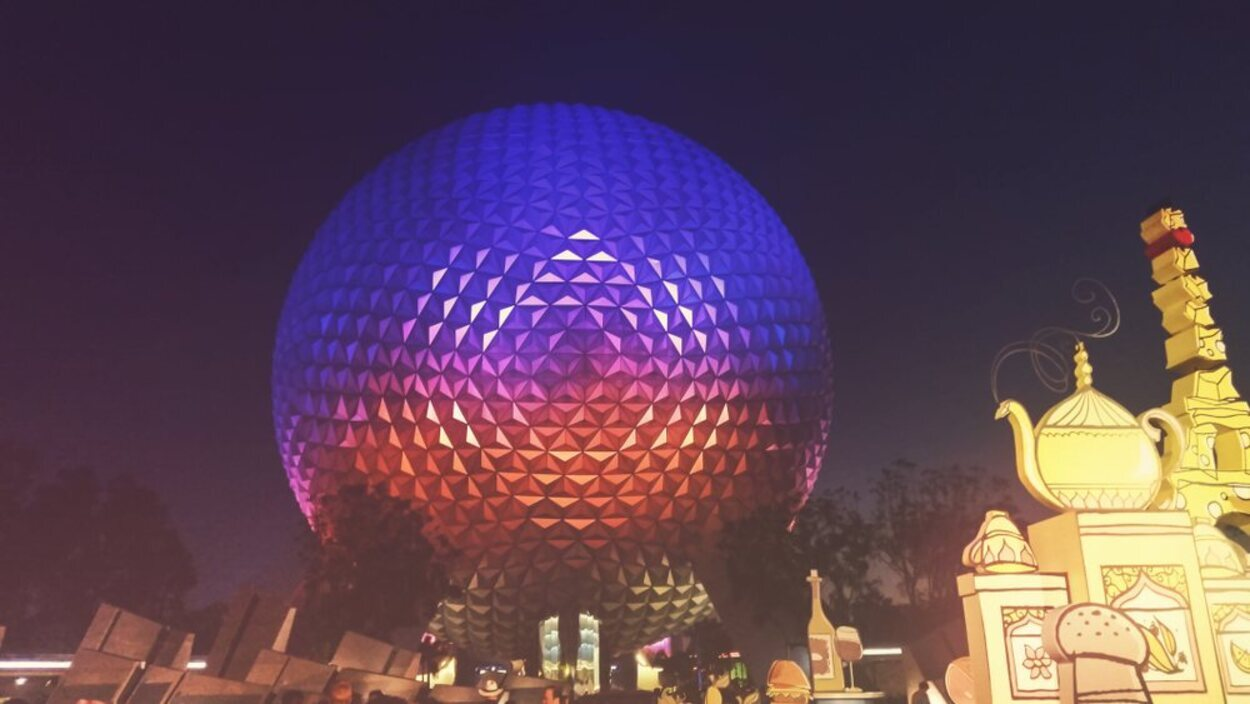 El parque Epcot duplica en tamaño a Disney's Magic Kingdom