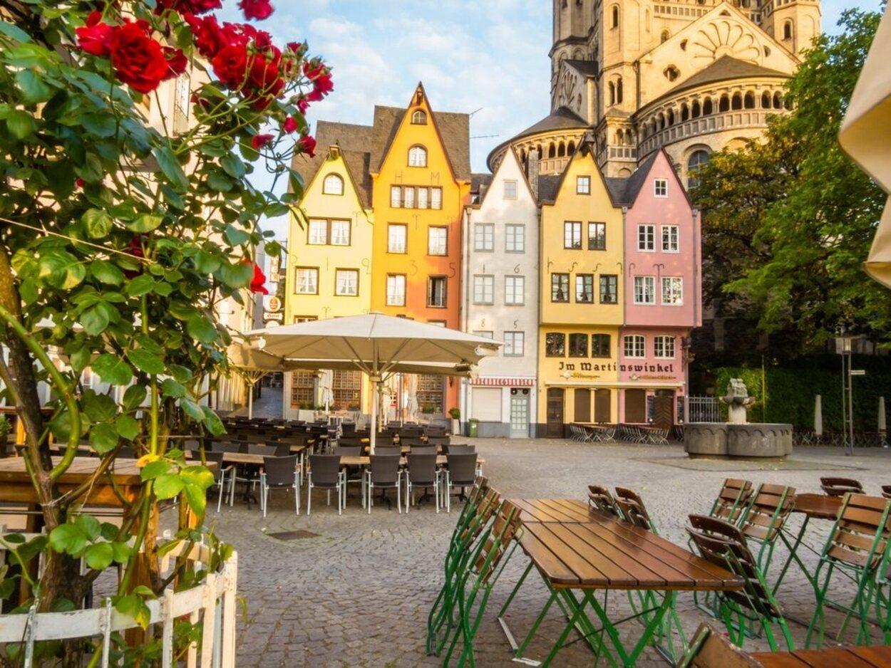 Colonia  es uno de los puntos más vanguardistas de Europa