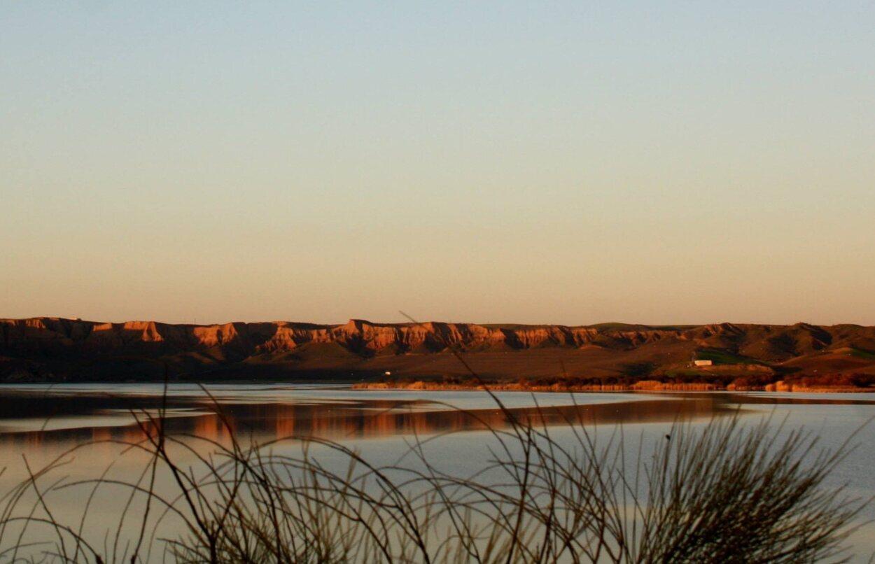 Disfruta de las cárcavas y de una preciosa puesta de sol/ Foto: Tamara García Copado