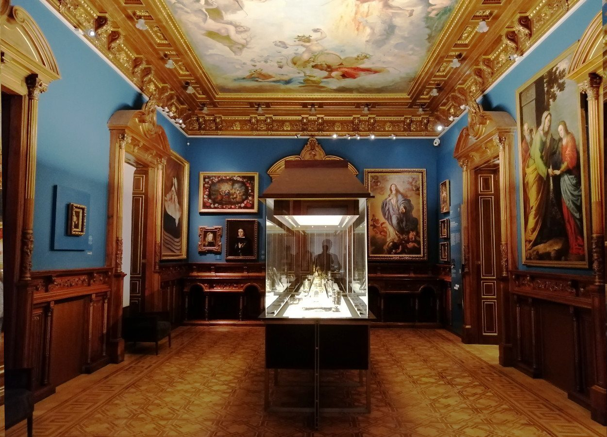 Interior del Museo Lázaro Galdiano
