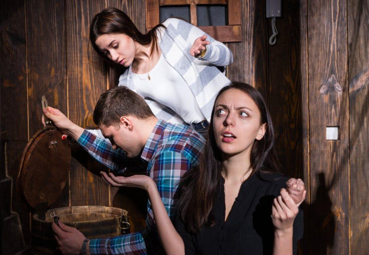 Un Escape Room terrorífico con amigos es una de las mejores maneras de celebrar Halloween