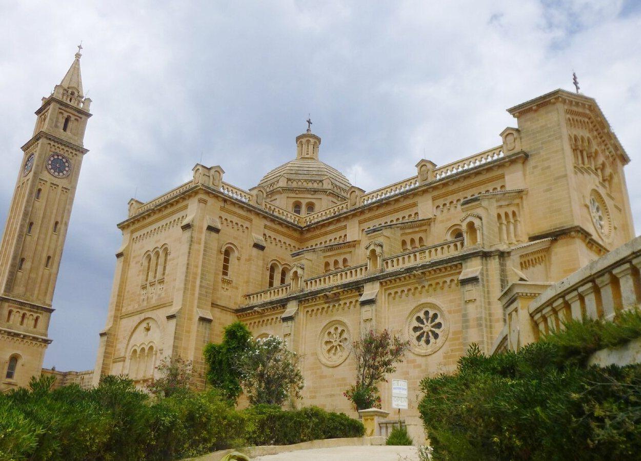 Ta'Pinu es el principal centro de peregrinación en Malta