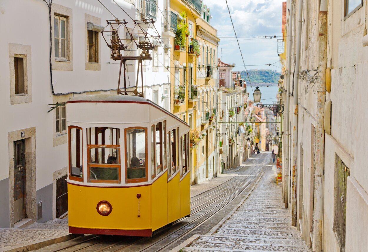 El tranvía de Lisboa es una de sus señas de identidad