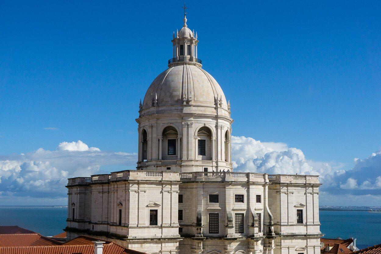 El Panteón Nacional de Lisboa en el exterior