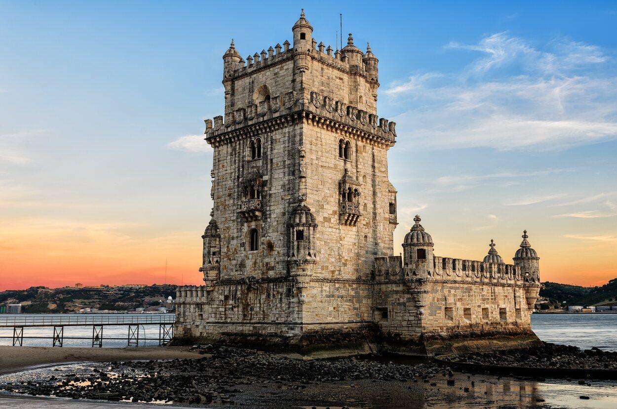 La Torre de Belem en el exterior