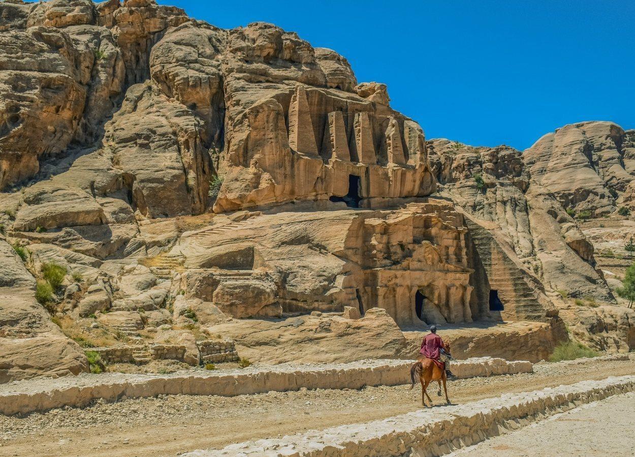 El comercio fue la principal fuente de ingresos de Petra