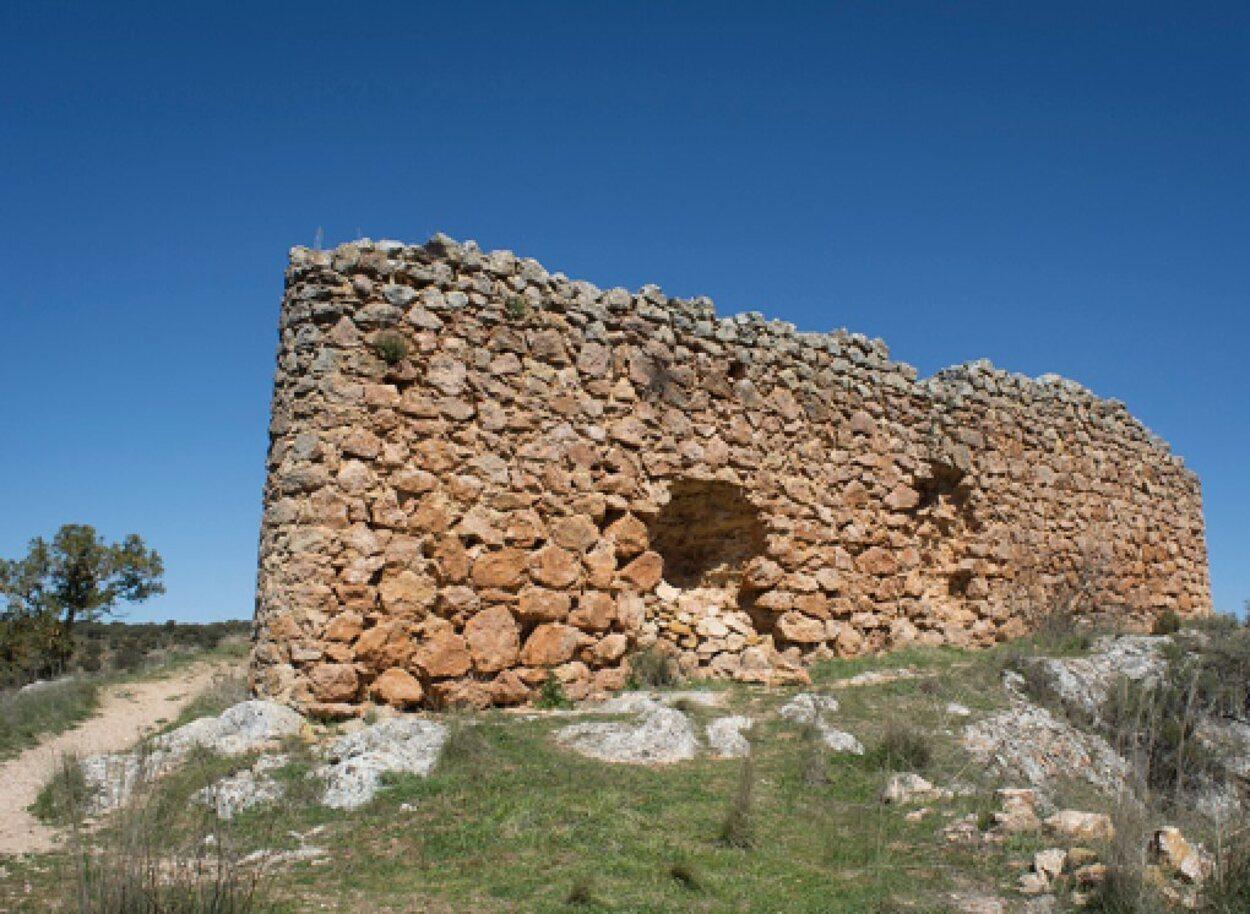 Lo que queda del castillo de Rochafrida