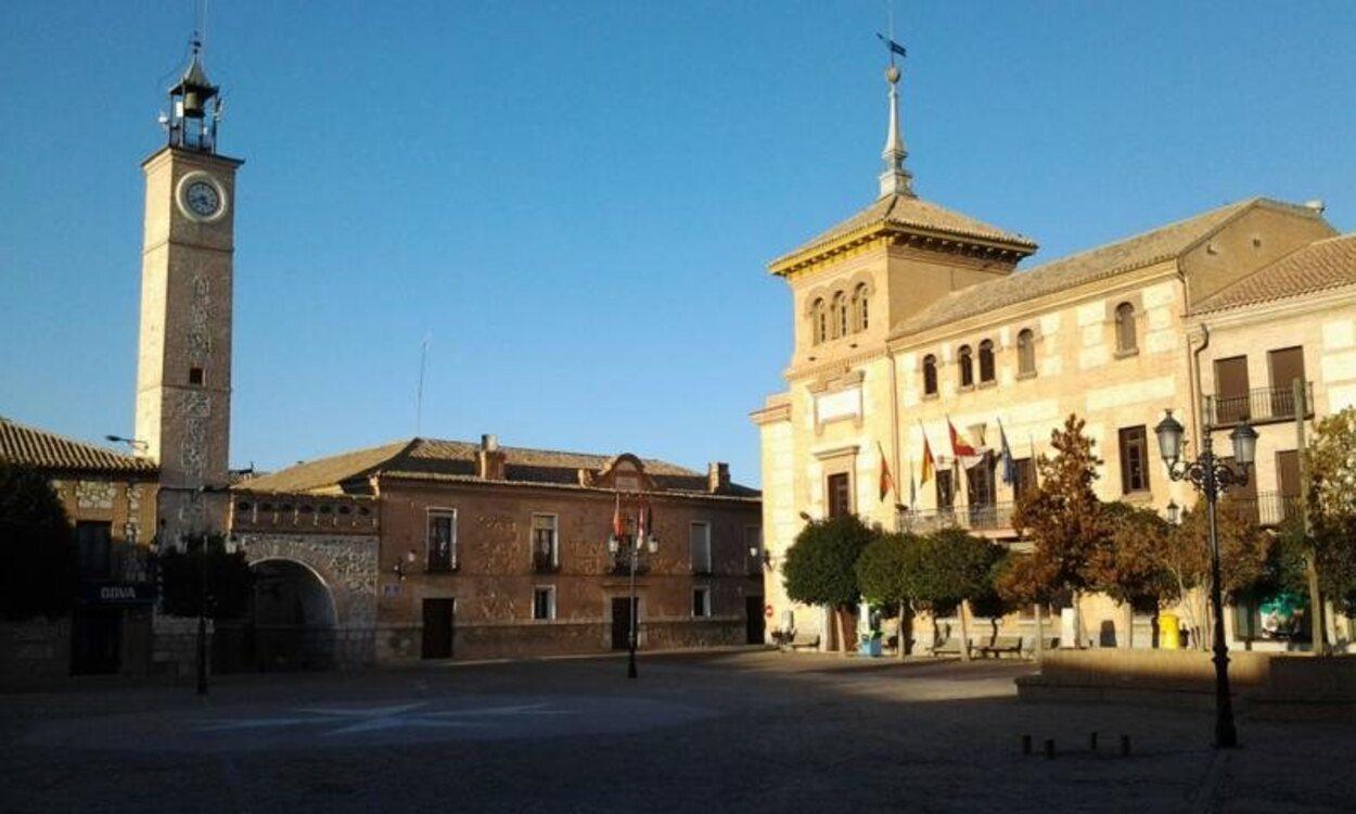 Plaza e España de Consuegra