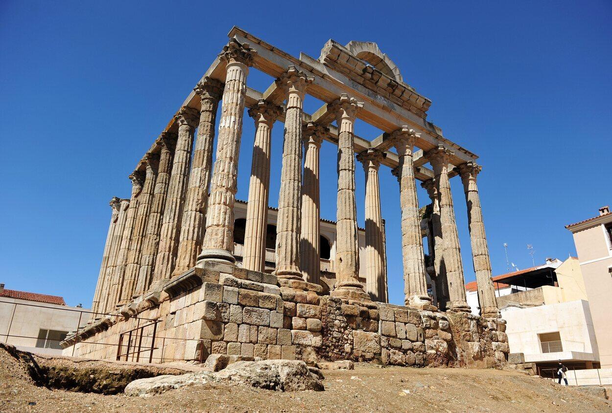 El Templo de Diana se usó como palacio