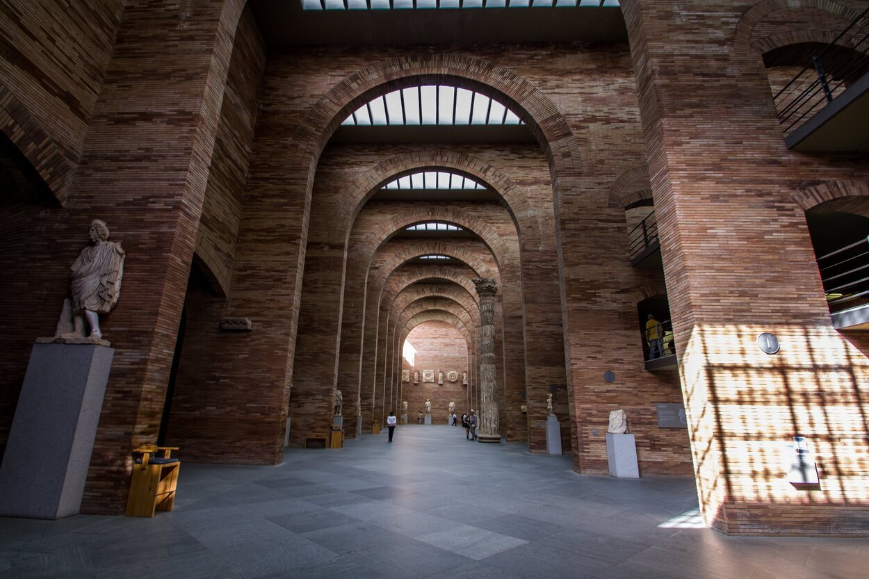 Salas del Museo Nacional de Arte Romano d Mérida