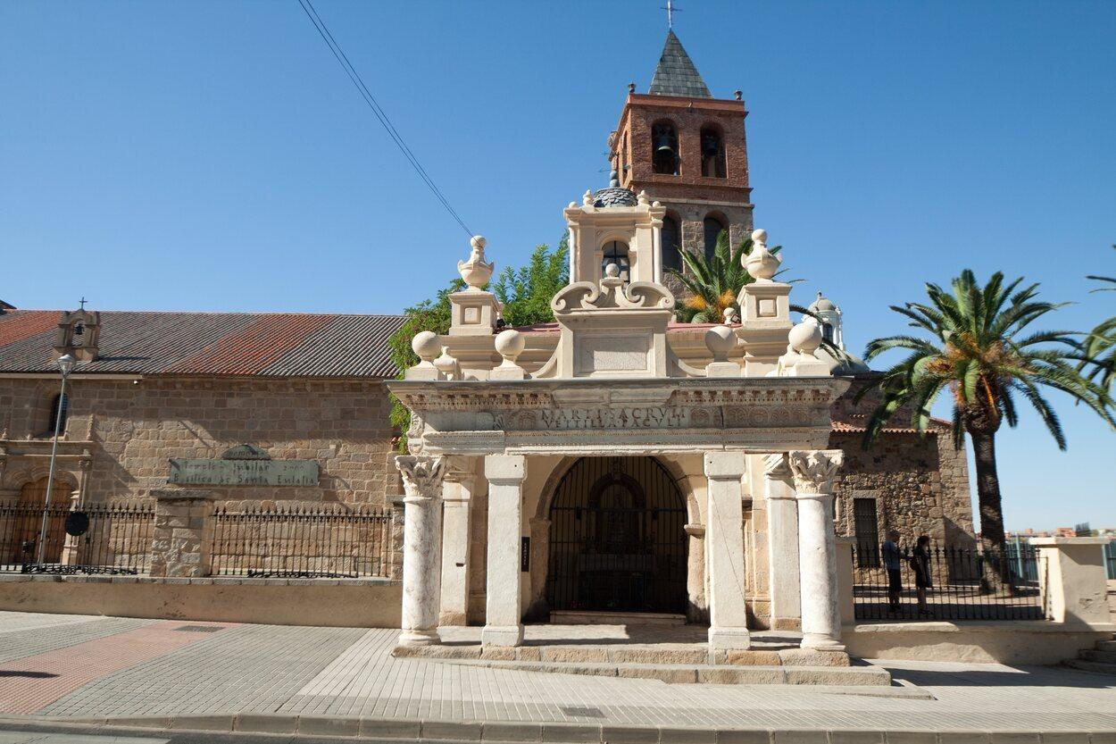Vistas de la Basílica de Santa Eulalia