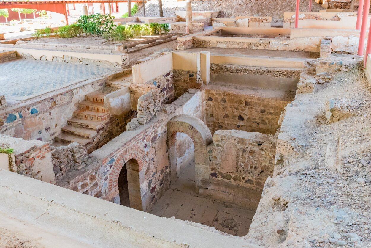 La casa de Mitreo destaca por sus mosaicos