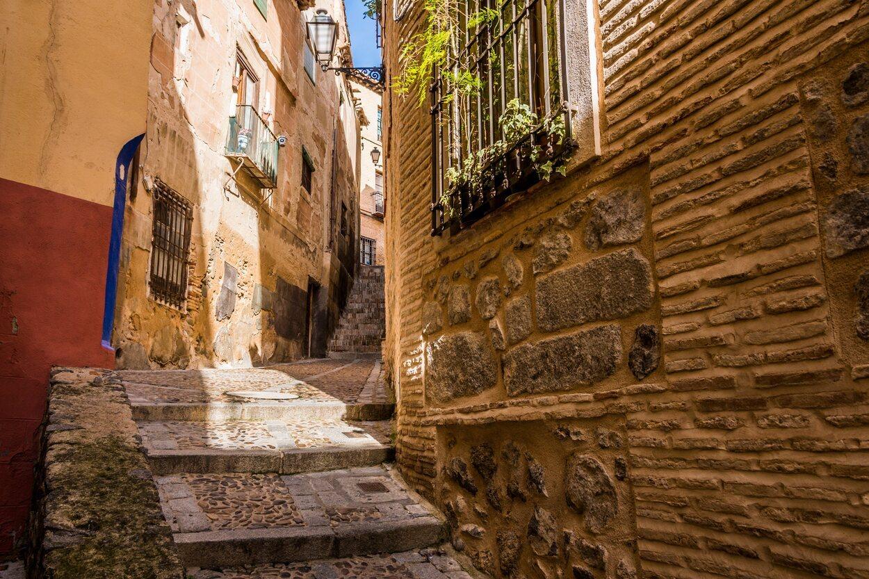 Una calle encantadora de Toledo