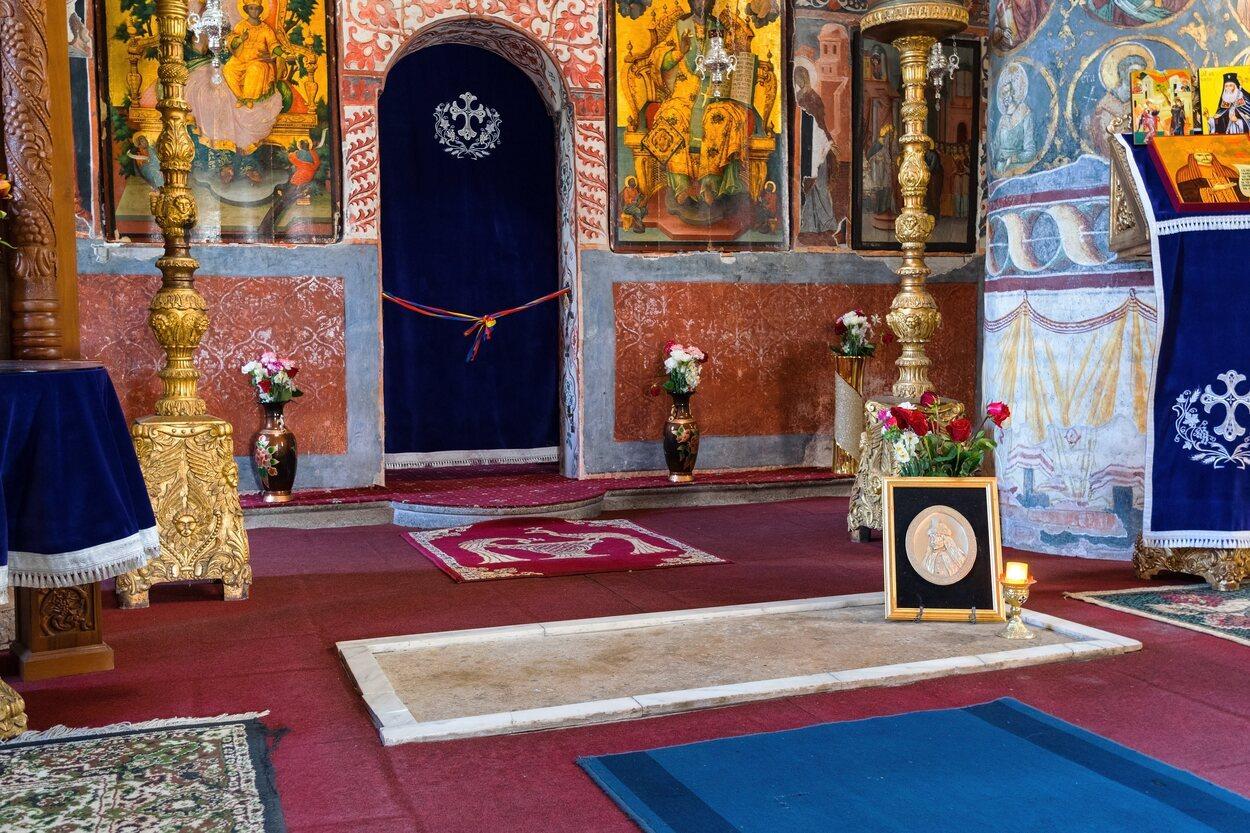 La supuesta tumba de Vlad Tepes