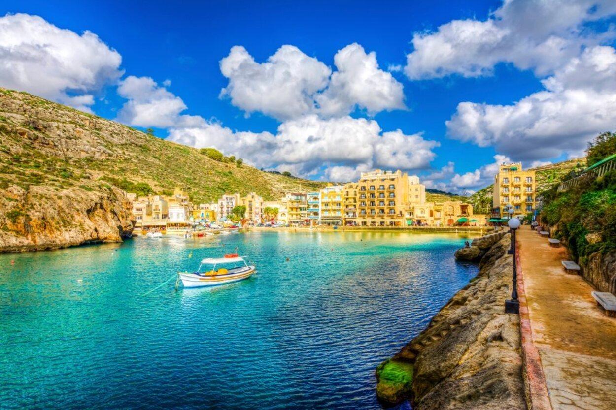 Las playas de Gozo no tienen nada que envidiar a las de la Isla de Malta