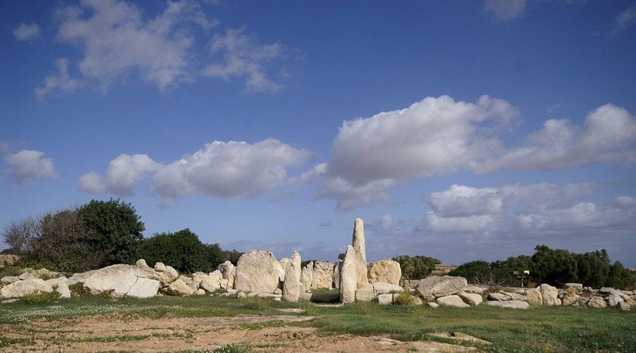 Este templo Hagar Qim es clave para entender la historia de Malta