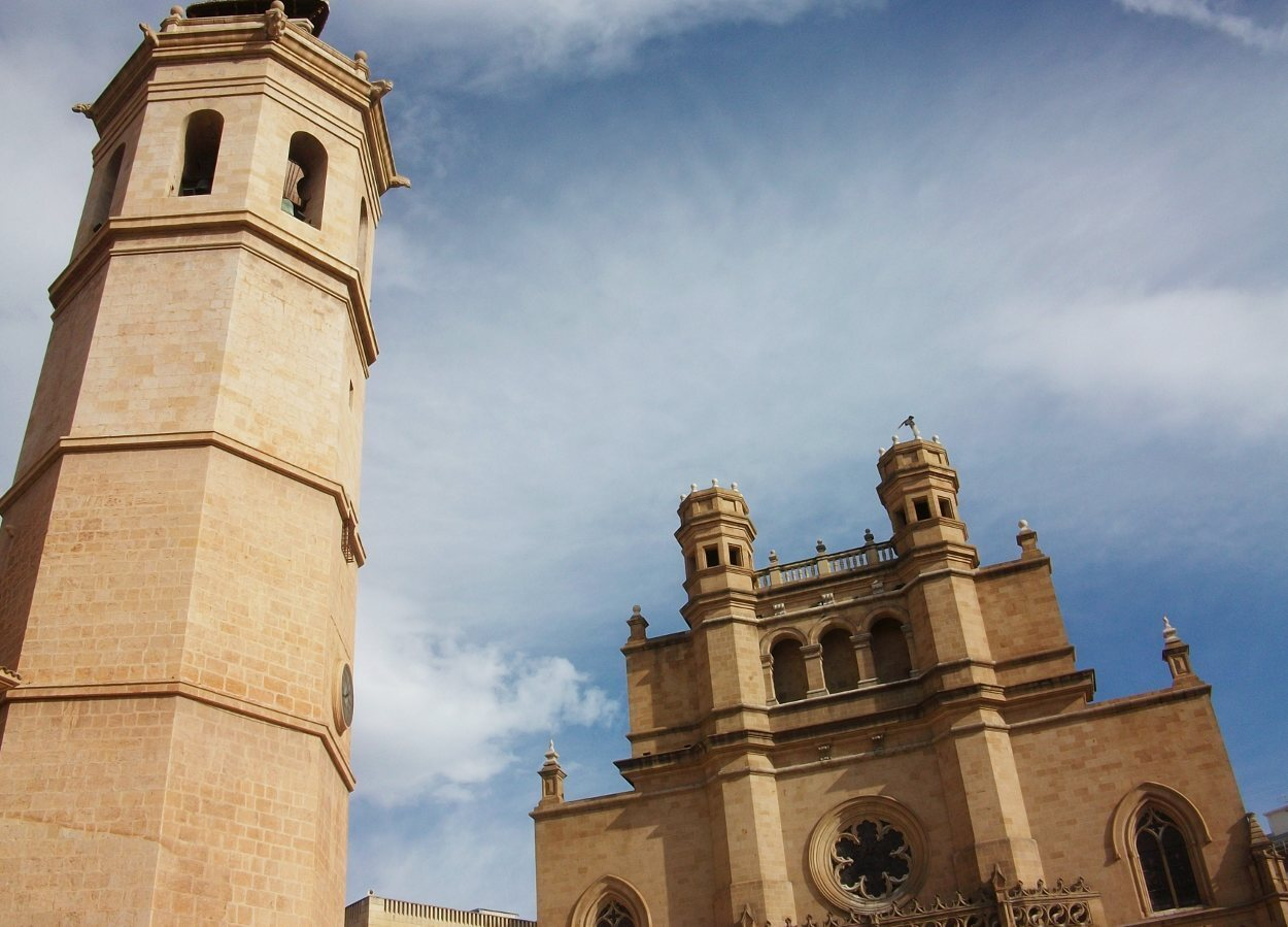 Detalle de la concatedral y el Fadrí