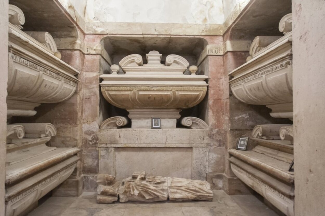 Cripta donde está la tumba de la Princesa de Éboli