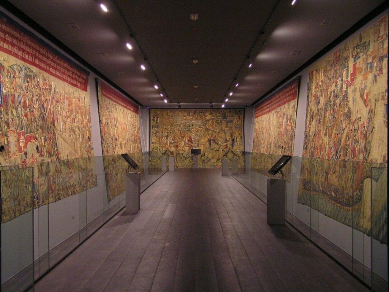 Sala principal de tapices