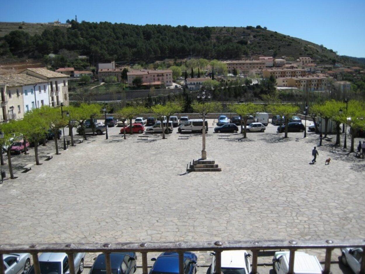 Vistas desde el Palacio Ducal de la Plaza de la Hora