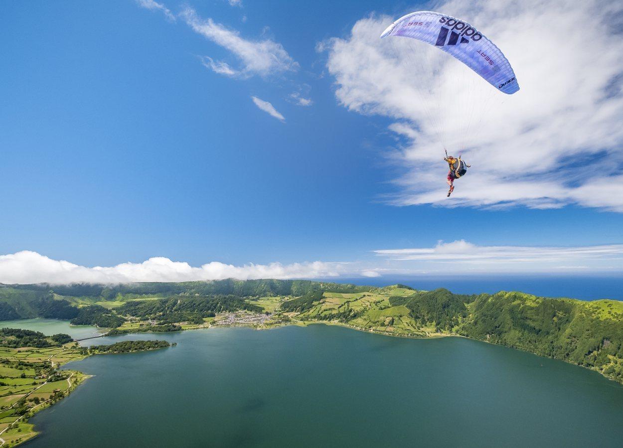 El Lago de Sete Cidades es uno de los más espectaculares de Azores