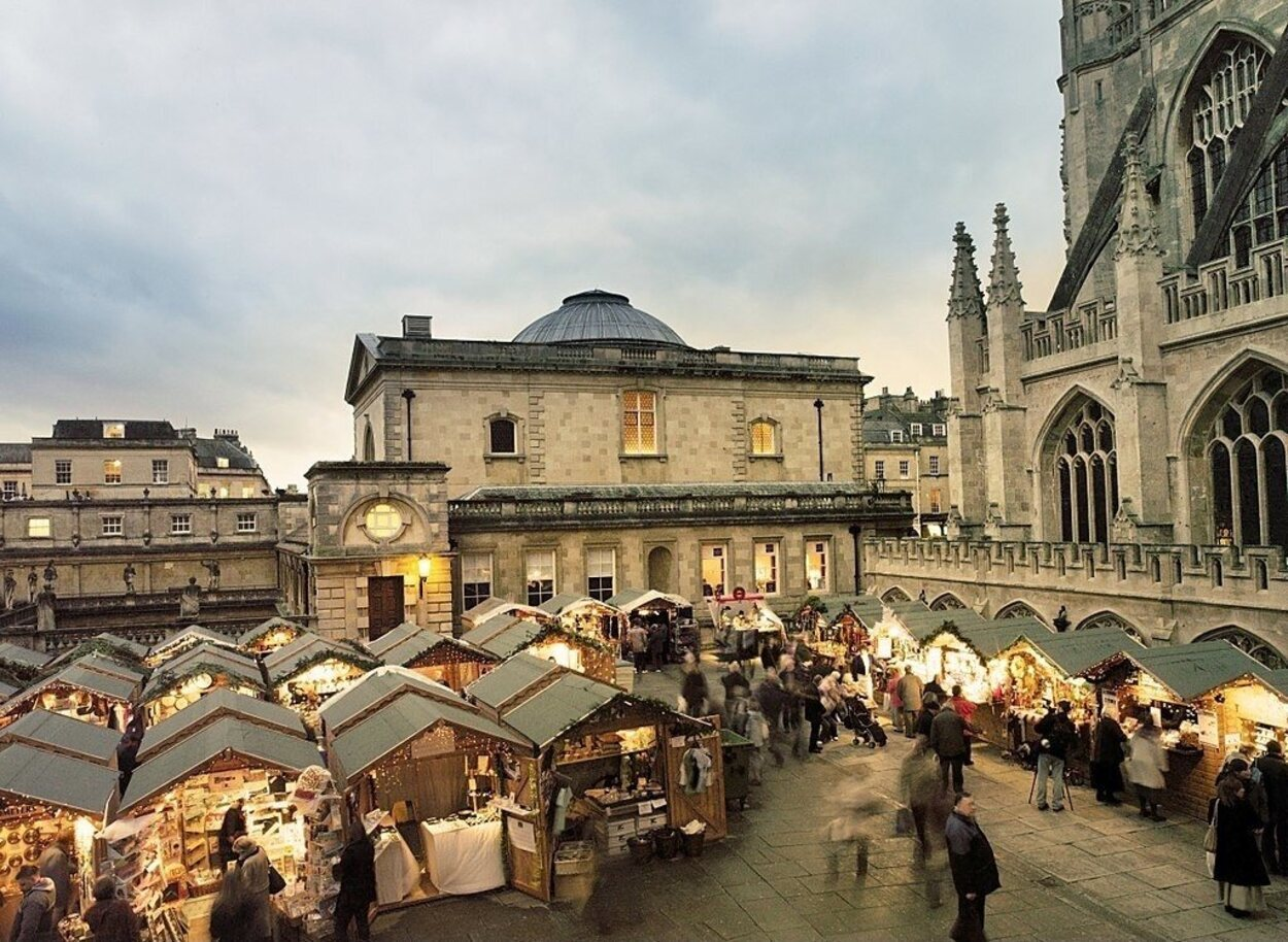 El mercado navideño de Bath es uno de los más bonitos de la lista / Foto:Chris Cooper