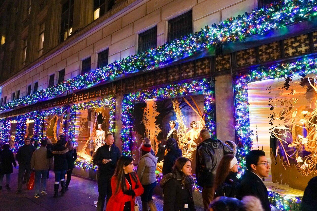 Nueva York es una de las grandes ciudades en las que vivir la Navidad