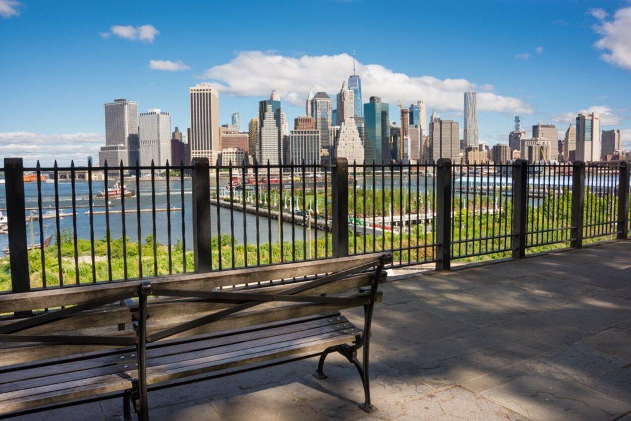 Desde Brooklyn Heights Promenade podrás encontrar unas preciosas vistas