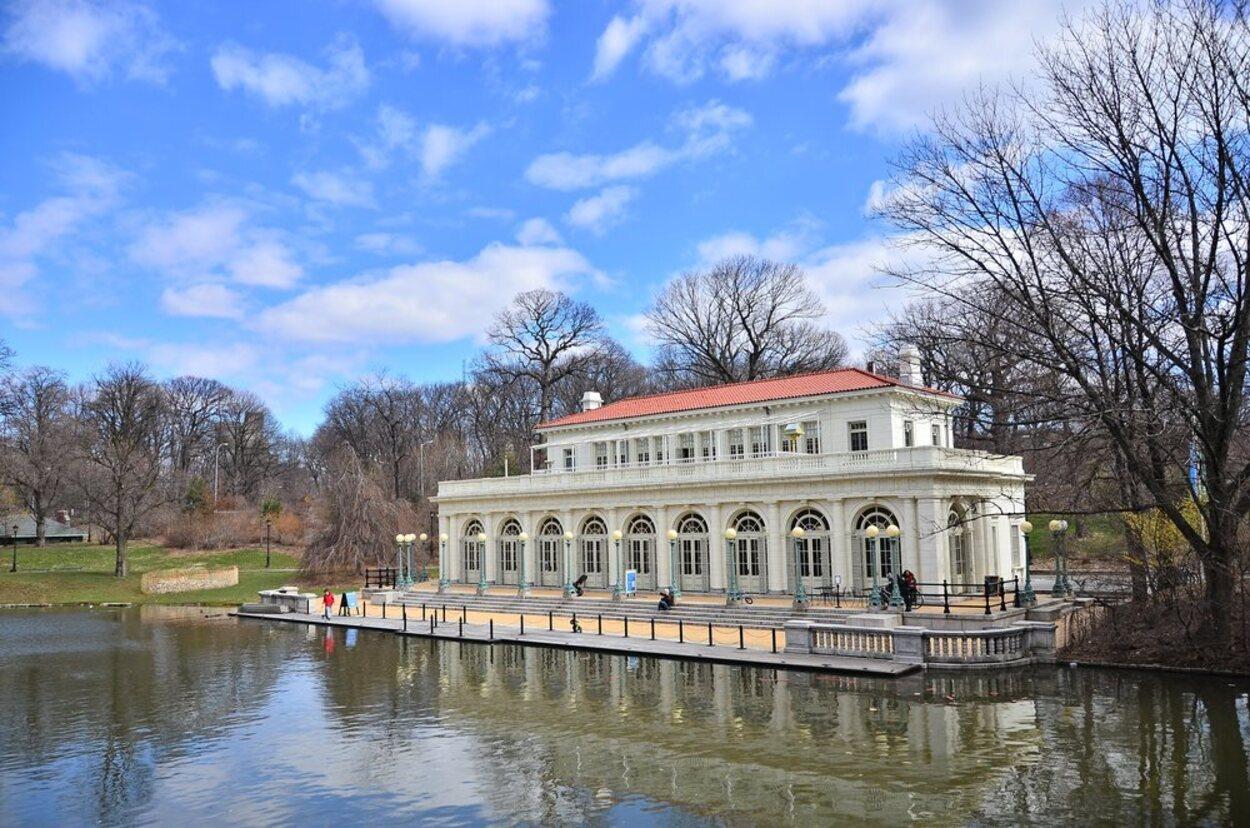 Prospect Park es un precioso parque para caminar y disfrutar del buen tiempo