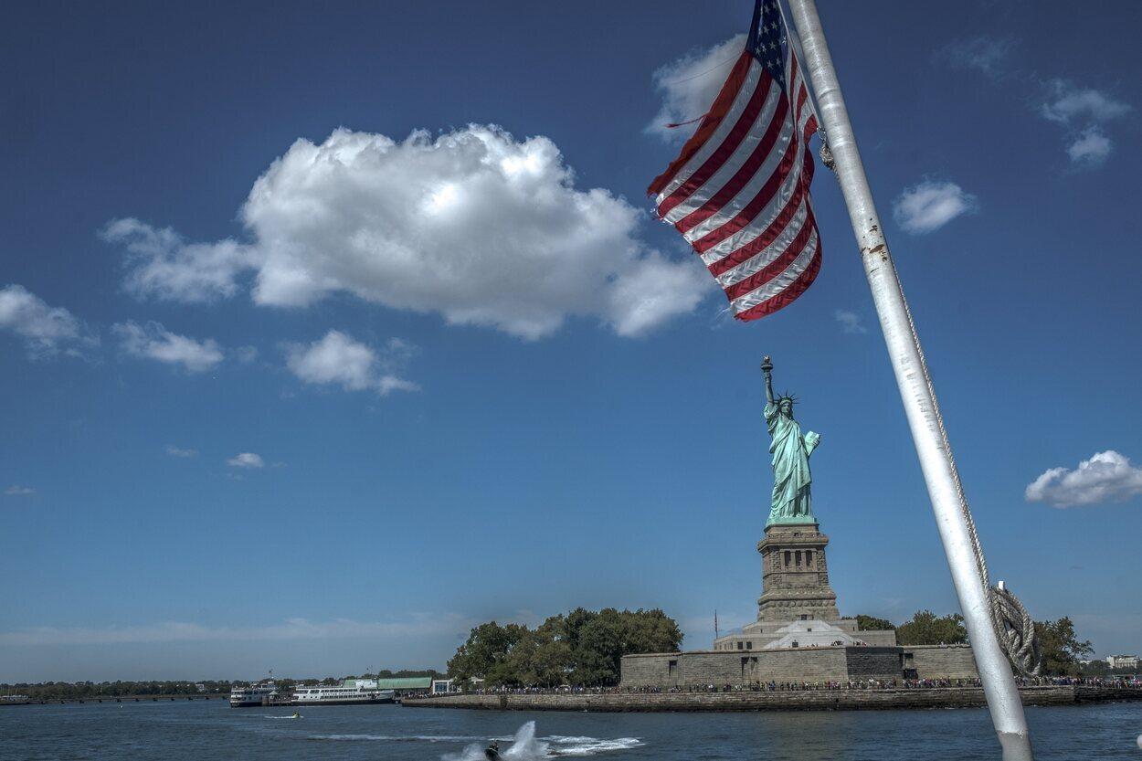 La Estatua de la Libertad es todo un signo de la ciudad | Foto: Jesús Bravo