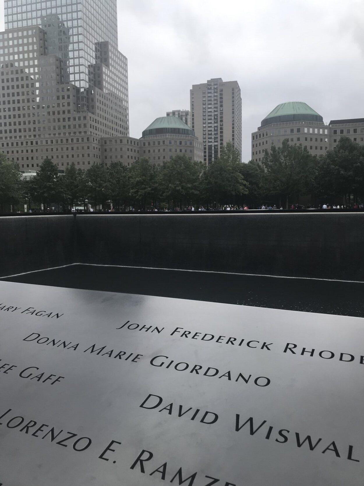 El Memorial 11S se ha convertido en un punto clave para visitar en Nueva York | Foto: Miriam R. Nogal