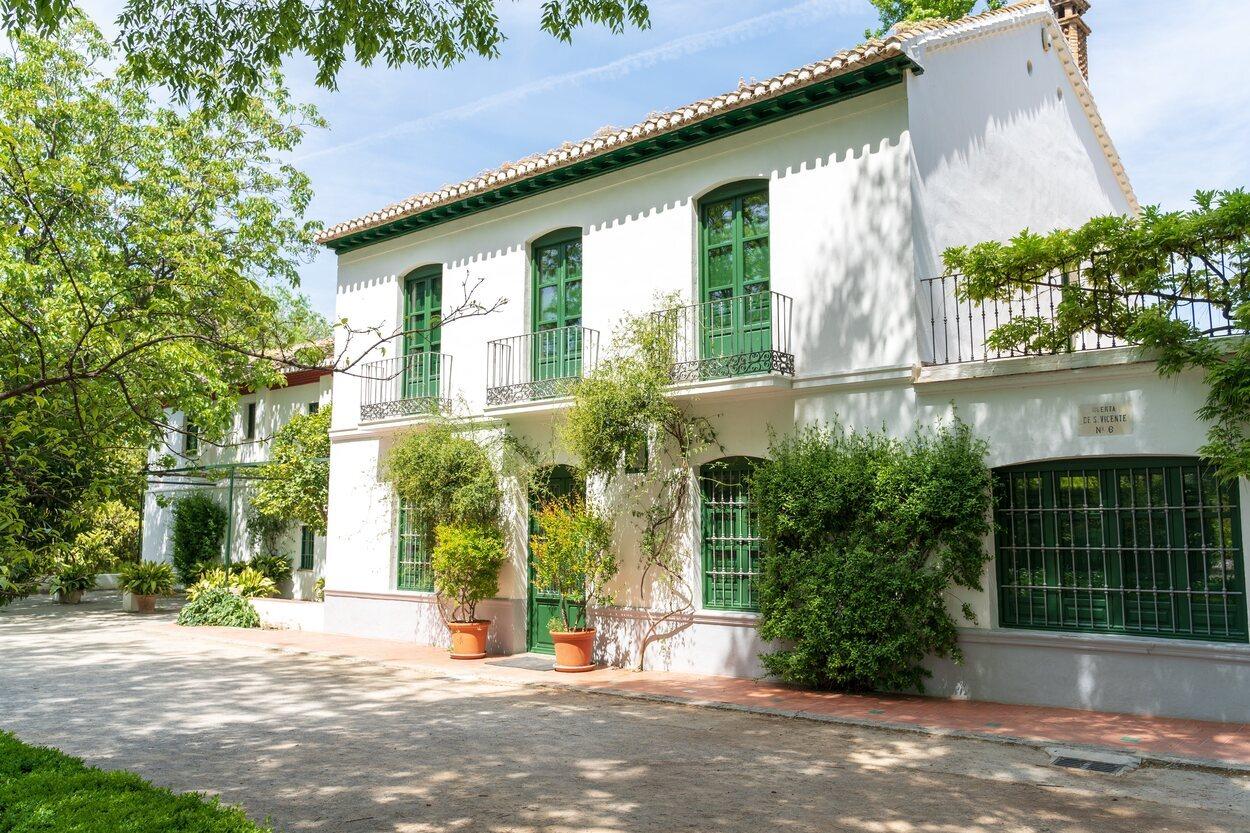 En la Huerta de San Vicente se encuentra la casa de Federico García Lorca