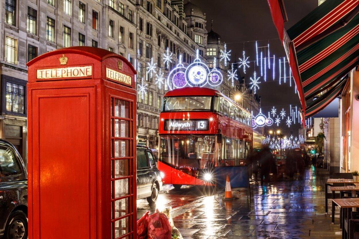 Londres es la ciudad ideal para disfrutar de la Navidad