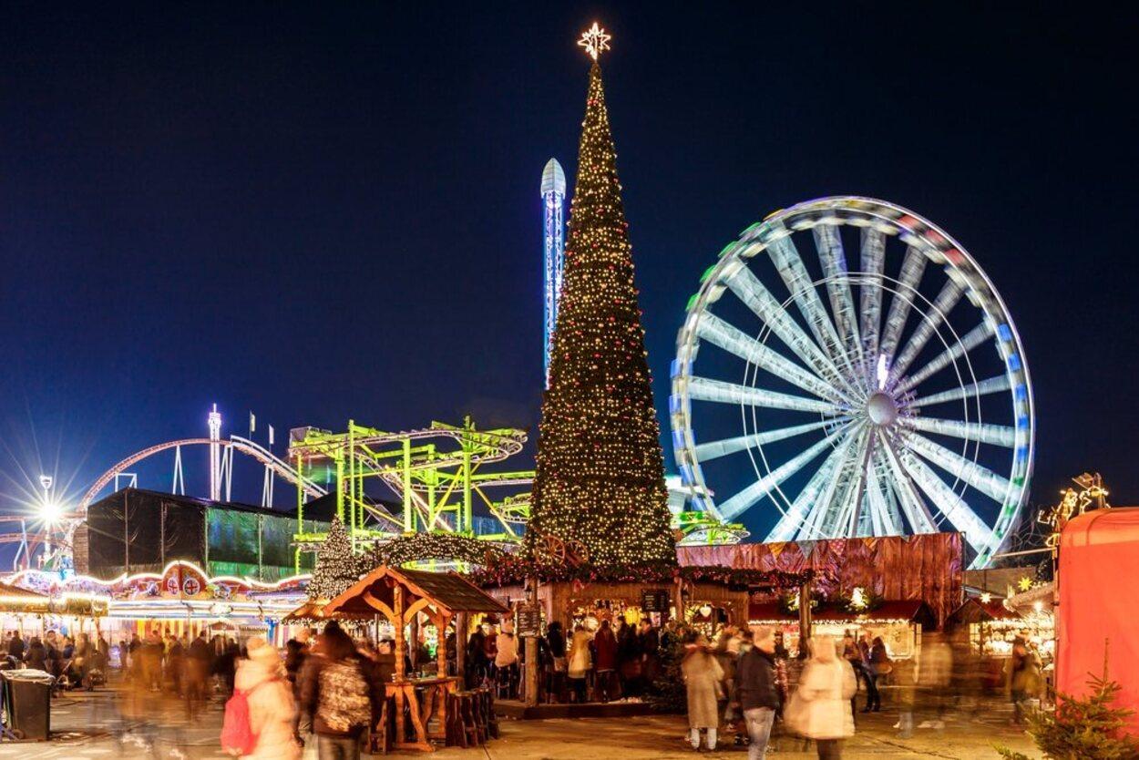 Winter in Wonderland tiene multitud de atracciones y espectáculos navideños