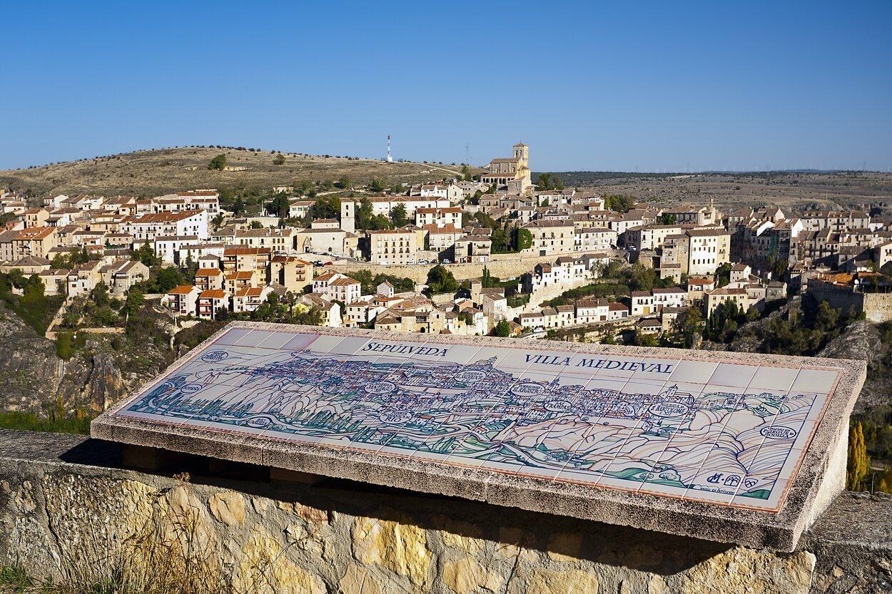 El casco histórico de Sepúlveda declarado está considerado Bien de Interés Cultural