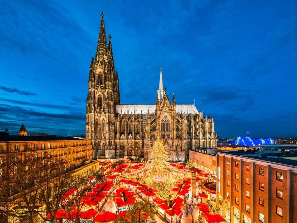 Colonia tiene muchos tipos de mercados navideños, siendo el más famoso el de la Catedral