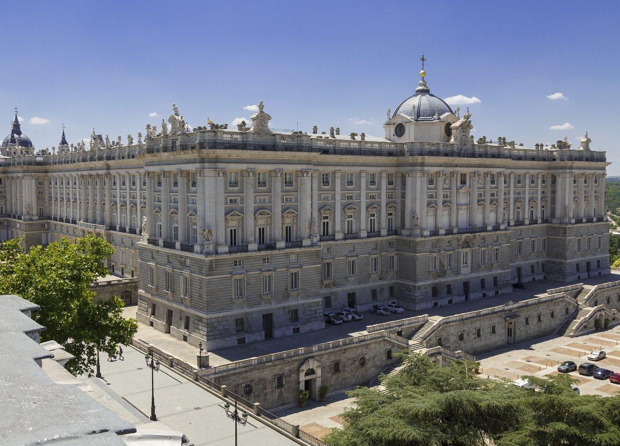 Felipe V promovió la construcción del Palacio Real de Madrid
