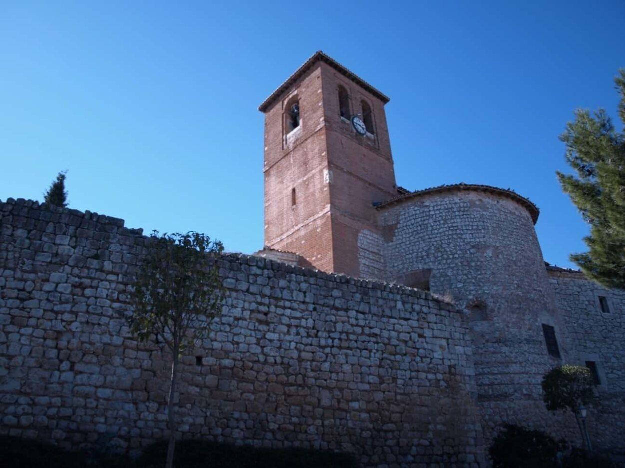 El Castillo de Santorcaz presenta una imagen totalmente fortificada | Foto: Turismo Ayuntamiento Santorcaz