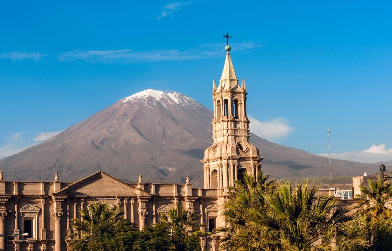 Arequipa es conocida como la Ciudad Blanca
