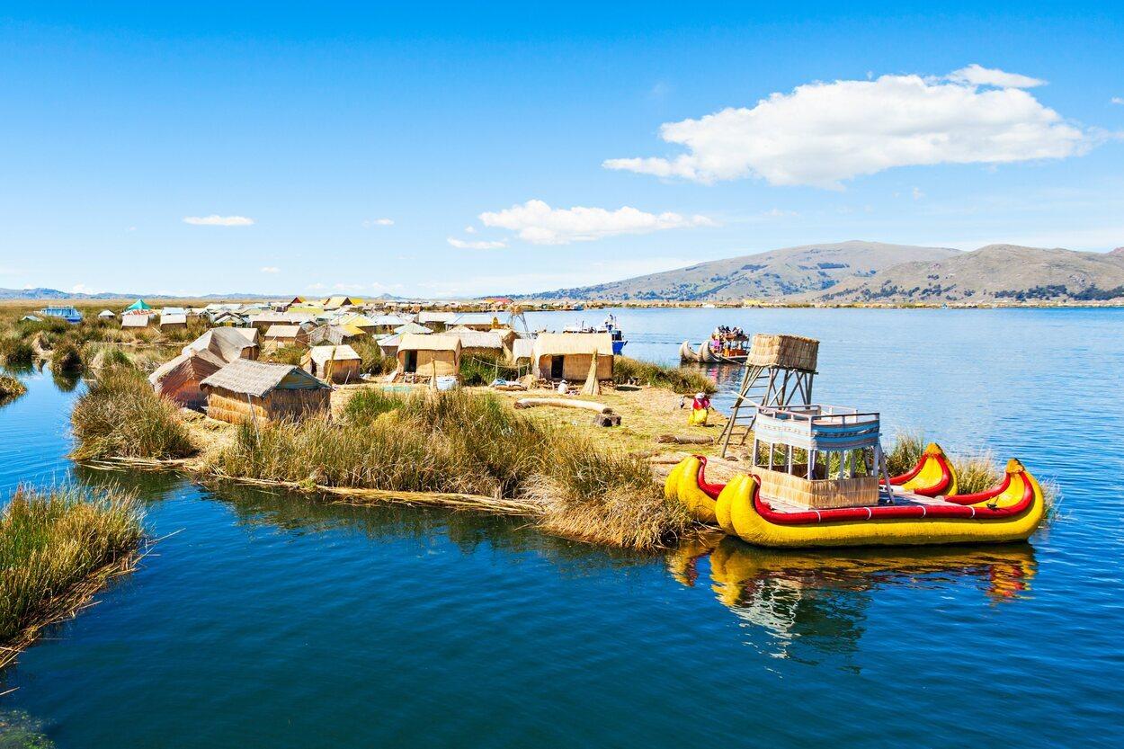 El lago Titicaca es el más alto navegable del mundo