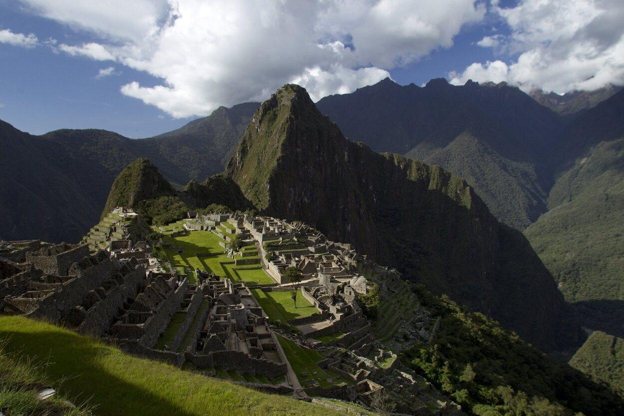 Machu Picchu es una de las siete maravillas del mundo