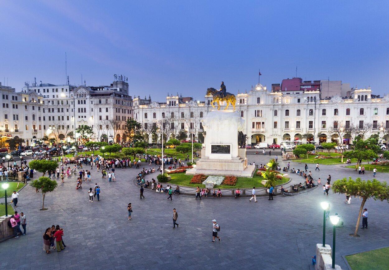El centro histórico de Lima Centro Histórico está declarado Patrimonio Cultural de la Humanidad.