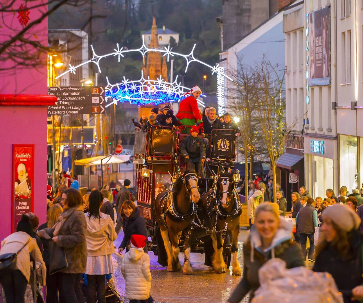 En Waterford se podrá pasear en un trineo tirado por caballos, entre otras actividades | Foto: Turismo Irlanda