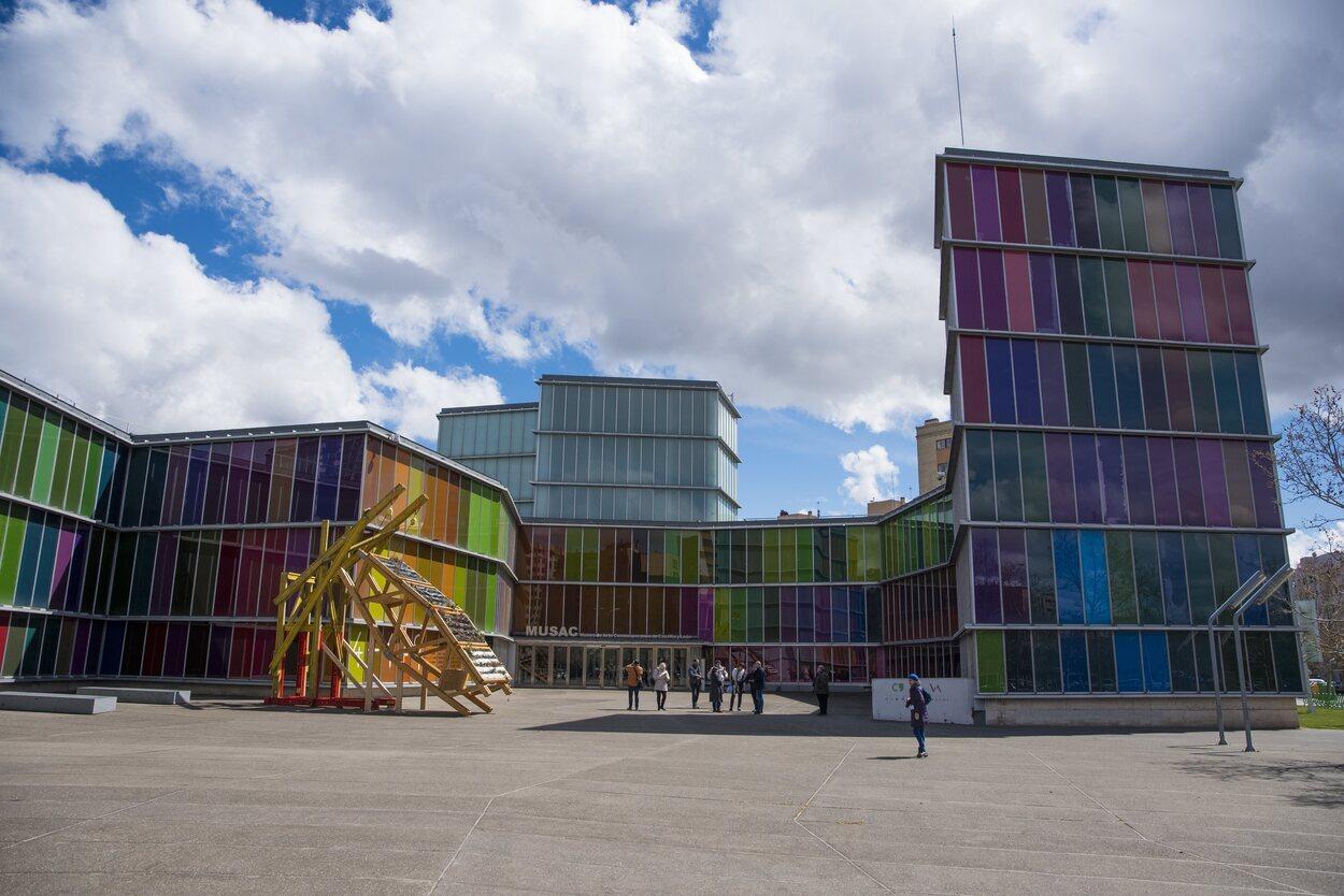Fachada principal del MUSAC | Miguel A. Muñoz Romero