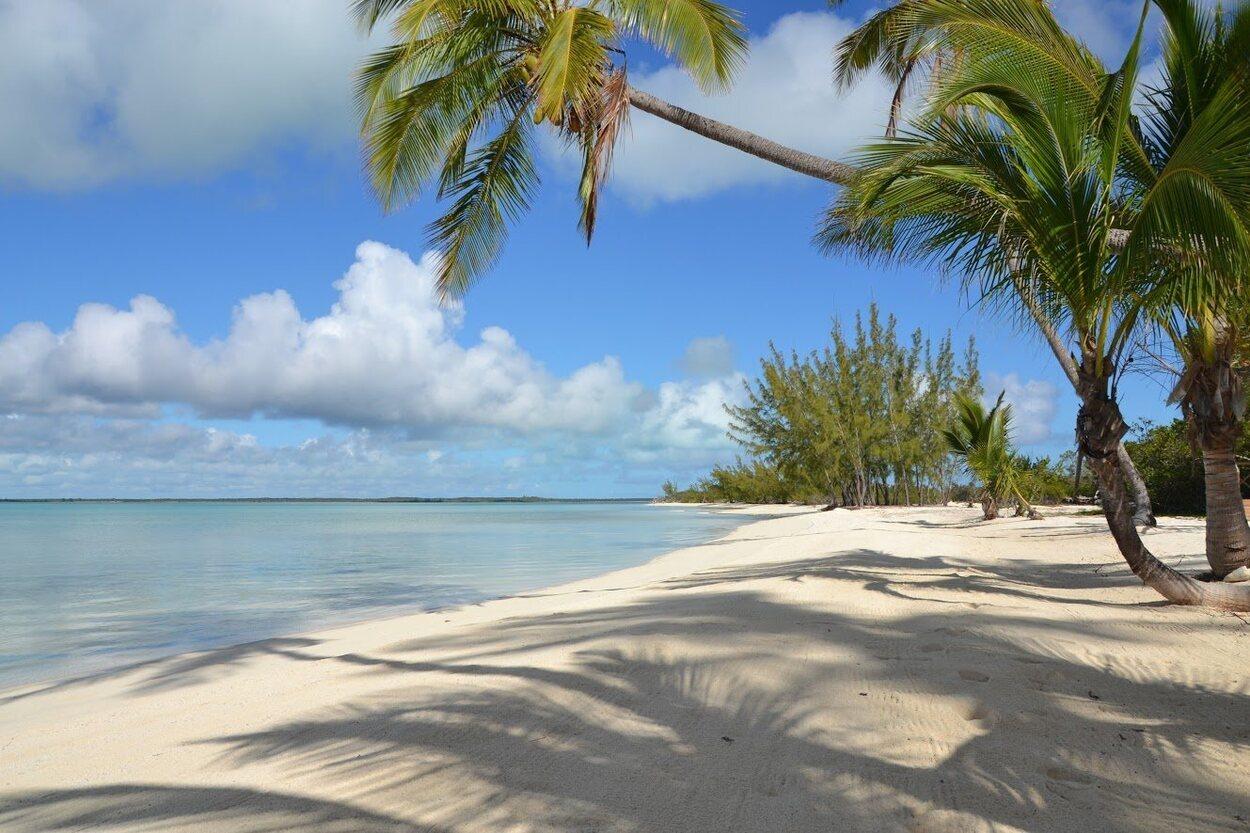 En las Bahamas las playas son de arena suave y agua transparente