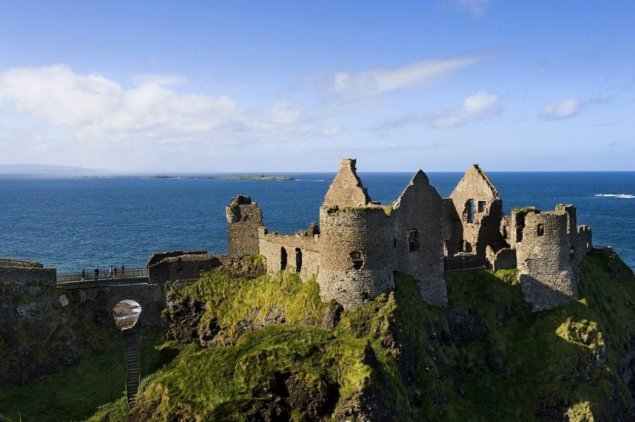 El Castillo de Dunluce data del siglo XIV
